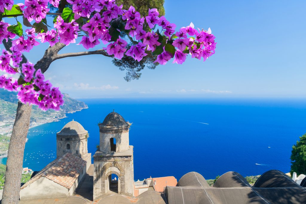 "8 DAYS AMALFI COAST SMALL GROUP TOUR:""ROMANCE OF THE AMALFI COAST"""